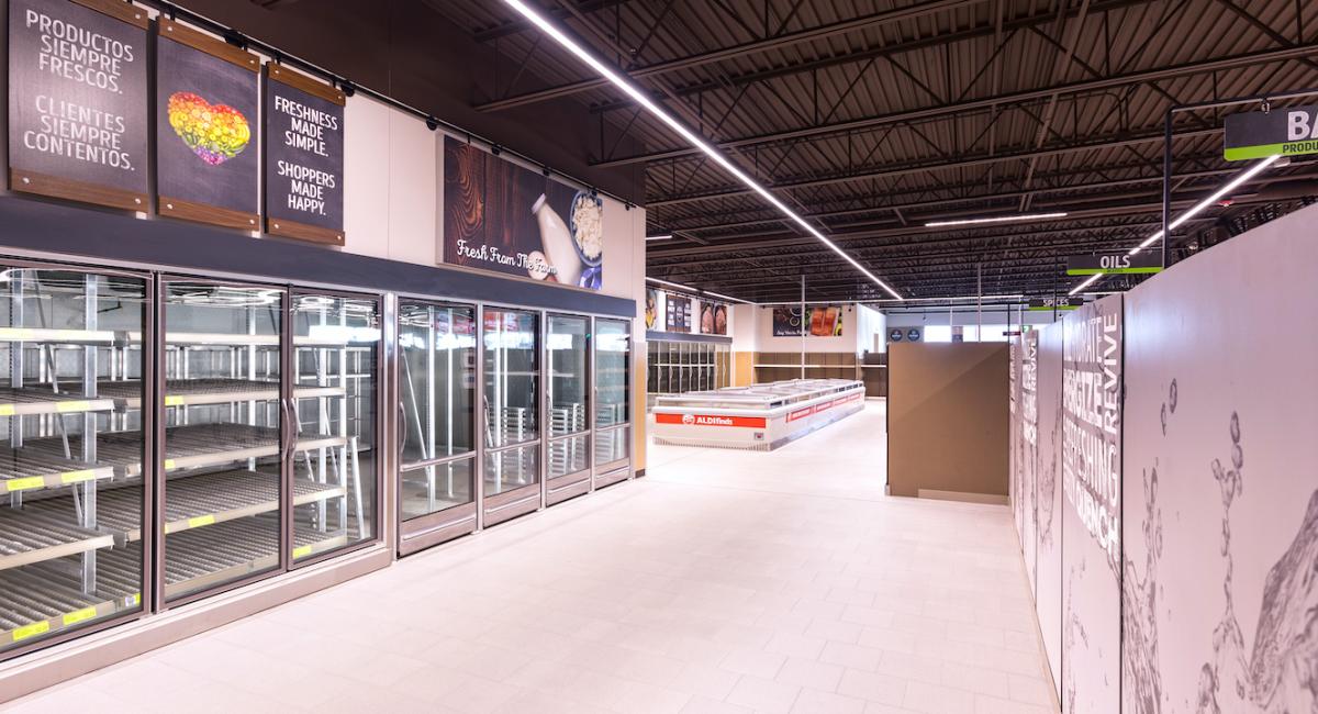 Aldi Retail Store
